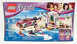 LEGO Friends Andrea's Speedboat Transporter 41316 Building Kit (309 Piece) - $29.69