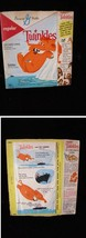 General Mills Twinkles Cereal Box 1960s Twinkles and The Iceberg - $54.99