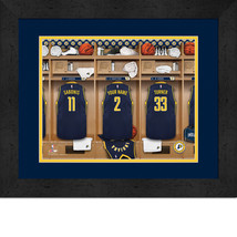 Personalized Indiana Pacers 12 x 16 Locker Room Framed Print - $63.95