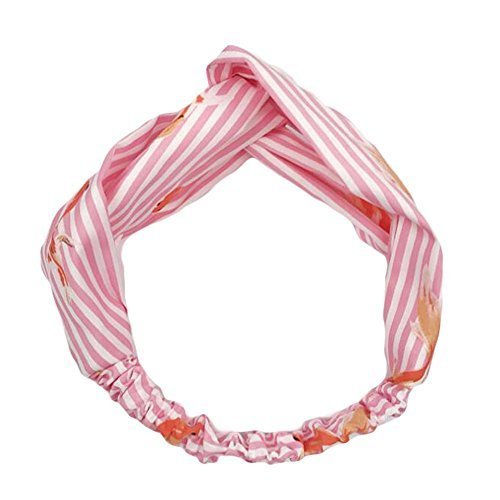 Chiffon Cute Hairband Vintage Elastic HairBand Nylon Head Wrap Headband Goldfish