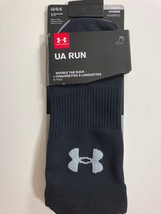 Men's UA Under Armour Run Size Large Double Tab Socks Shoe 9-12.5 Women ... - $9.64