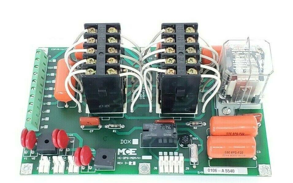 MCE HC-DPS-MOM/H DOOR BOARD REV 3-3, 26-03-0030, VC15S-3A1B