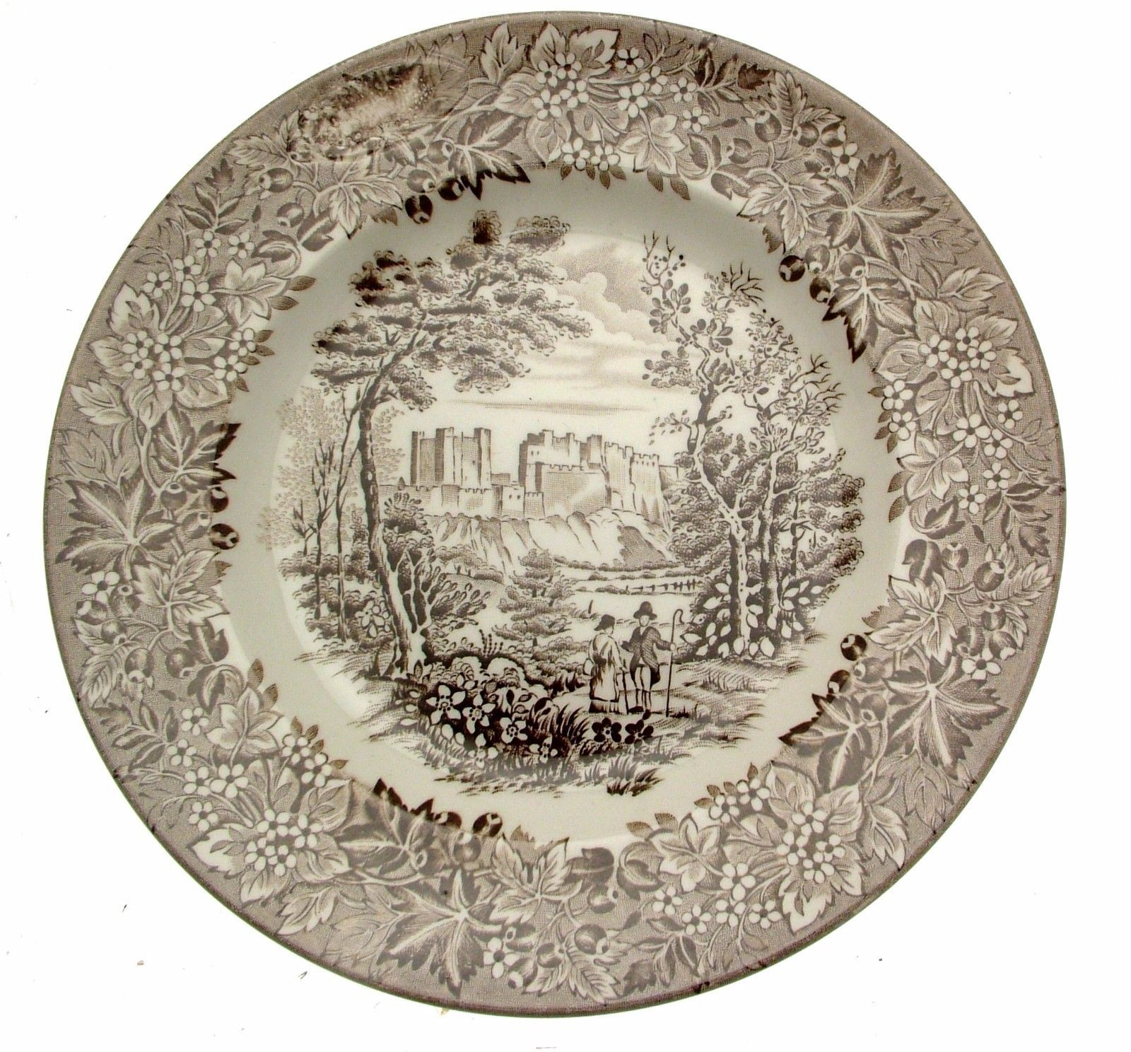 English Ironstone Tableware Castles Brown and 50 similar items