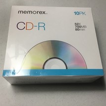 Memorex 700MB 52x CD-R (10 -Pack) - $7.33