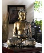 Serene Sitting Buddha Altar Statue - $32.75