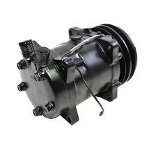 A-Team Performance Sanden 508 Style Black Clutch V-Belt A/C Compressor, Black image 5