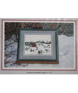 """1995 Foxberry Cross Stitch Embroidery Cape Breton Out On The Mira Kit 9""""... - $18.99"""