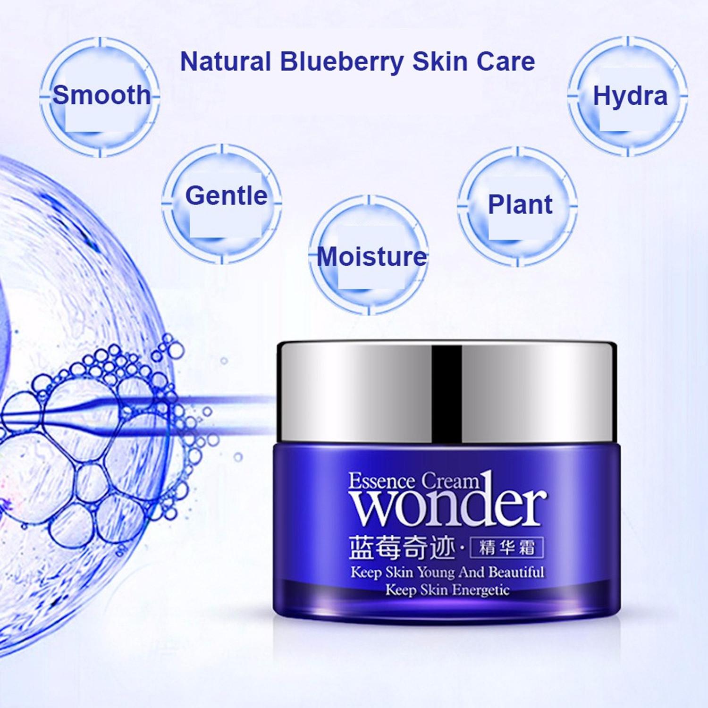 Wonder Blueberry Whitening Moisturizing Anti-Aging Essence Face Cream