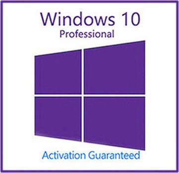 Windows 10 Pro Professional Key With Download 32/64 Bit