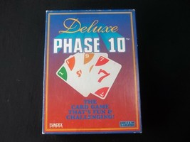 Fundex Phase 10 Deluxe Card Game Complete 1995 - $7.87