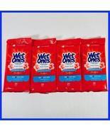 (4) Wet Ones Antibacterial Fresh Scent Hand Wipes Travel 20 Count = 80 Total - $8.99