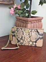 Coach Madison Python Chain Wristlet Exotic Snakeskin  B26 - $67.72