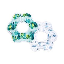 Tiny Twinkle Roundabout Bibs 2 Pack - Forest Bear Set, 360 Rotating Waterproof S