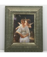 Whisperings of Love 1889 by Adolphe William Bouguereau Framed Art Repro ... - $43.16