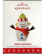 2017 Hallmark Keepsake Ornament - Sweet Snowman - VIP Member Exclusive L... - $5.34