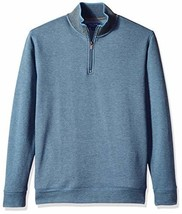 Cole Haan Men's Birdseye 1/4 Zip Knit Sweater (Large|Stellar) - $33.32