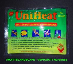 HEAT PACK 72 Hour-For customers buying plants only from Epicacti-Mattsla... - $2.50