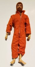 1964 Vintage G.I. JOE Red Orange Fuzzy Hair Beard w/ Scar Hasbro Action ... - $44.54