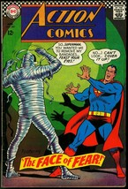 ACTION COMICS #349 1967-SUPERMAN MEETS THE MUMMY-RARE   FN - $37.83
