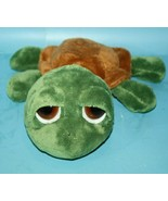 Russ Berrie Lil Peepers SHECKY TURTLE Plush Big Sad Eyes Bean Bag Plush ... - $19.34