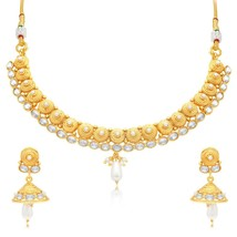 Sukkhi Gold Plated Necklace Set For Women - $22.99