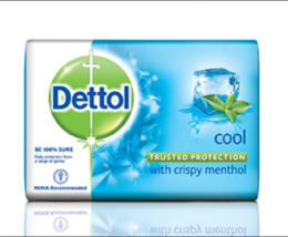 Dettol Cool with Crispy Menthol Soap 110g - $8.99