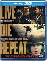Live Die Repeat: Edge of Tomorrow [3D + Blu-Ray + DVD]