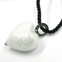 Necklace Antique Murrina C0733A02 with Heart of Murano Glass and Cord from 80 CM image 1
