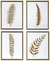 """Uttermost Forest Ferns 20"""" H 4-Piece Framed Canvas Wall Art Set - €326,58 EUR"""