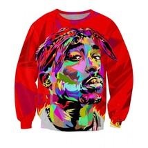 Rapper Singer All Eyez On Me Thug Life Sweatshirt - $36.58