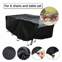 BEESIM Patio Cover, Outdoor Furniture Cover, Lounge Porch Sofa Protector... - $24.24