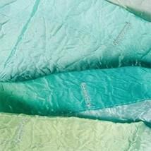 Interdesign Ombre Fabric Shower Curtain Blue & Green 72 X 72 - $25.38