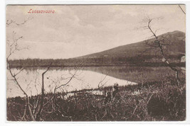 Luossavaara Mountain & Lake Sweden 1909 postcard - $6.24