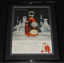 1958 Lord Calvert Whiskey 11x14 Framed ORIGINAL Vintage Advertisement - $46.39