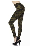 Camo Leggings Camouflage Army Print Buttery Soft ONE SIZE OS 0-14 - $14.03