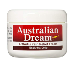 Australian Dream Back Pain Cream 9oz Jar - $38.66