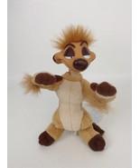 "The Lion King 11"" Timon with Vinyl Head Plush Stuffed Toy Vintage 1994 D... - $14.21"