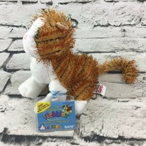 Ganz Webkinz Lil' Kinz Striped Alley Cat With Mismatched Eyes Plush Stuf... - $11.88