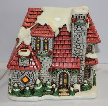 Lefton Colonial Village Stone Mansion TWD06338 - $67.72