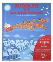 Rudolph The Red-Nosed Reindeer Recordable Story Book [Board book] Johhny... - £27.96 GBP
