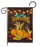 Thanksgiving Wish - Impressions Decorative Garden Flag G163084-BO - $19.97