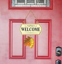 10 Pieces Set Seasonal Welcome Signs Interchangable Door Hanging Festive... - $32.08