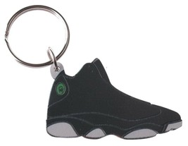 Good Wood NYC Play Off 13 Sneaker Keychain Wht/Blk VIII Shoe Key Ring key Fob