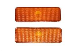 A-Team Performance 2 Front Parking Turn Signal Light Lens Compatible With F150 F