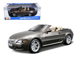 BMW M6 Convertible Bronze 1/18 Diecast Model Car by Maisto - $75.99