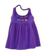 Jumping Beans Baby Toddler Girls Purple Heart Halter Top - $4.99
