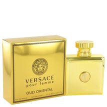 Versace Pour Femme Oud Oriental Perfume 3.4 Oz Eau De Parfum Spray  image 1