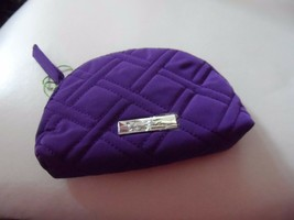 Vera Bradley Mini grape colored cosmetic with Lotion Packets   - $18.00