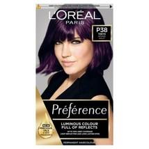 2 x L'Oreal Preference TOKYO INTENSE VIOLET Purple Luminous Hair Dye Per... - $35.84