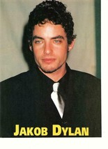 Jakob Dylan teen magazine pinup clipping Wallflowers slose up - $2.00